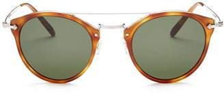 Oliver Peoples Women's Remick Round Sunglasses, 50mm