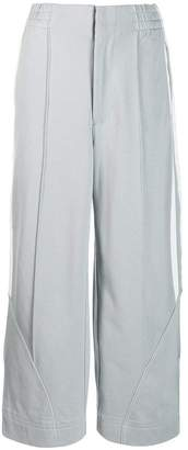 Y-3 wide track trousers