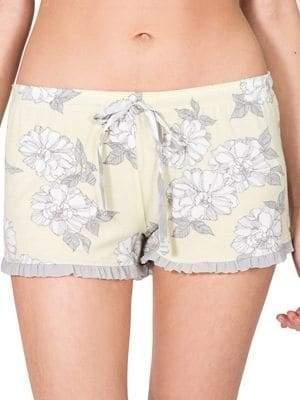 PJ Salvage Floral Pajama Shorts