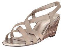 Elastic Stretch Wedge Sandals