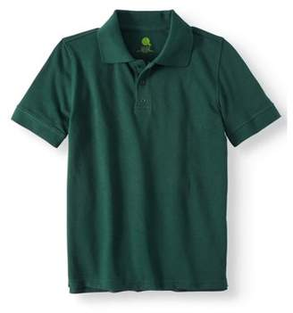 Real School Boys Short Sleeve Pique Polo Shirt School Uniform Approved