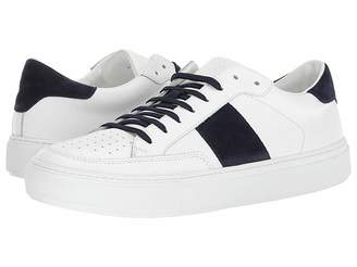 Eleventy Suede Side Band Sneaker Men's Shoes