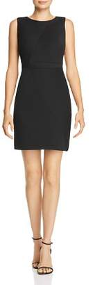 Adrianna Papell Daphne Ribbed Mitered Dress