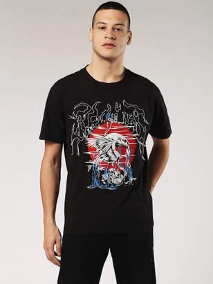 Diesel T-Shirts 0SAYP - Black - 3XL