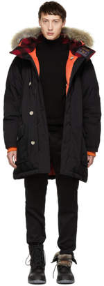 Woolrich John Rich and Bros Black Griffin Edition Down Atlantic Parka