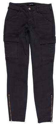 J Brand Mid-Rise Skinny Cargo Pants