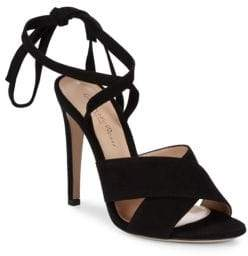 Gianvito Rossi Ankle Strap Leather Sandals