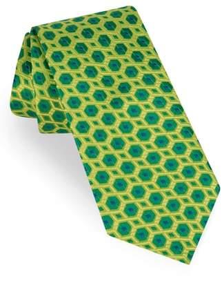 Ted Baker Sextagon Geometric Silk Tie