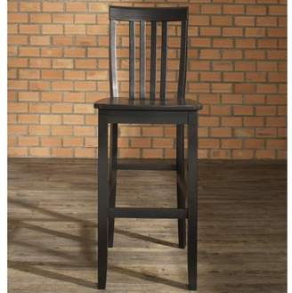 """Crosley Furniture School House Bar Stool with 30"""" Seat Height, 2pk"""
