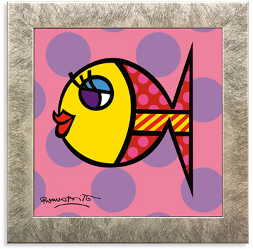 Dotti Fish Framed Wall Art by Britto