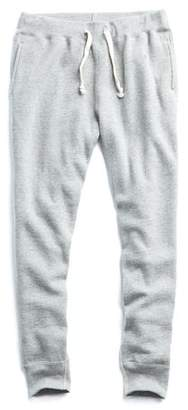 Todd Snyder + Champion Slim Sweatpant in Light Grey Mix