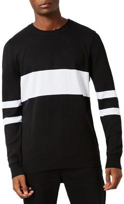 TOPMAN Sport Stripe Sweater $60 thestylecure.com