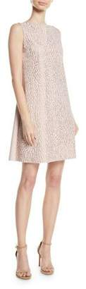 Chiara Boni Esen Sleeveless Dress w/ Demi-Mosaic Sequins