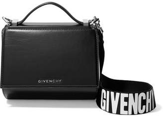 Givenchy Pandora Box Mini Leather Shoulder Bag - Black