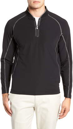 Bobby Jones Quarter Zip Slim Fit Tech Pullover