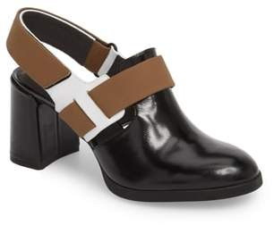 Camper Twins Block Heel Pump