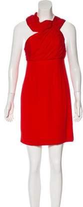 Rachel Zoe Asymmetric Cold Shoulder Mini Dress w/ Tags