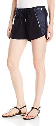 Blank NYC [BLANKNYC] Women's Linen Drawstring Shorts