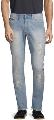 Armani Exchange Ripped Tapered Slim Fit Pant