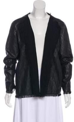 Shamask Quilted Leather Jacket