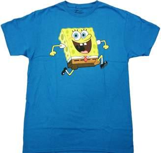 Hybrid Spongebob - Sponge Bob Reversable Adult T-Shirt