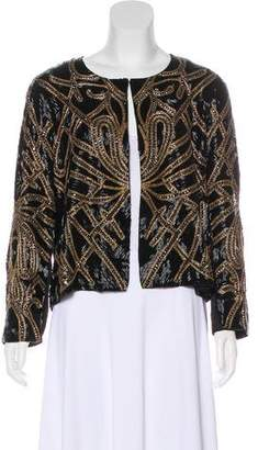 Haute Hippie Embellished Evening Jacket w/ Tags