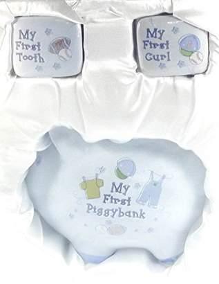 Baby Essentials Baby Boy 3 Piece Ceramic Keepsake Set