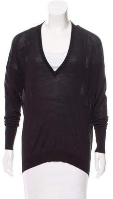 Acne Studios V-Neck Lightweight Sweater