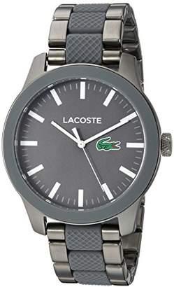 Lacoste Men's 'Lacoste.12.12' Quartz Stainless Steel Casual Watch
