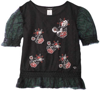 Bebe Embroidered Top