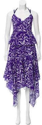 Prabal Gurung Bamboo Eyelet Maxi Dress w/ Tags
