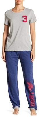 U.S. Polo Assn. French Terry Pajama Set