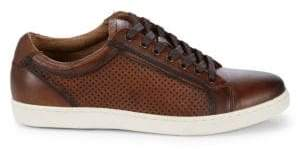 Steve Madden Perforated Leather Low-Top Sneakers