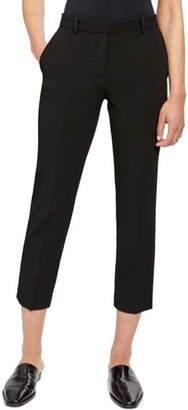 Theory Flat Front Crop Tailored Trousers