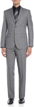 English Laundry Two-Piece Grey Glen Check Suit