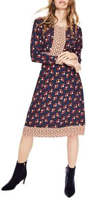 Boden Daisy Mixed Print Dress
