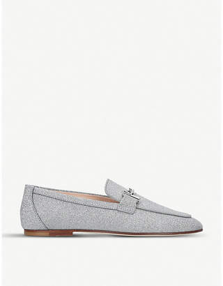 Tod's Tods Double T leather moccasins