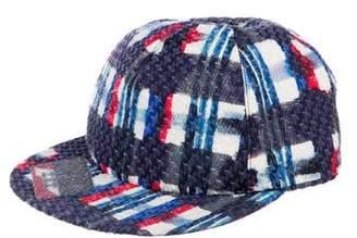 Chanel Tweed Baseball Cap
