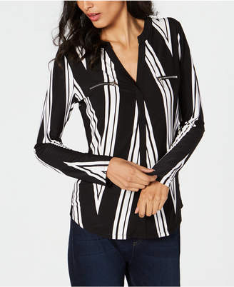 INC International Concepts I.n.c. Striped Top, Created for Macy's
