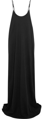 Vetements - Hanes Red Carpet Oversized Printed Cotton-jersey Maxi Dress - Black $1,875 thestylecure.com