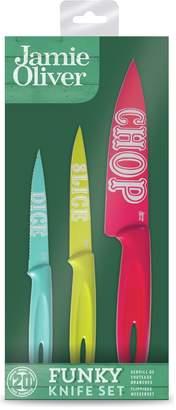 Jamie Oliver Funky Knife Set.