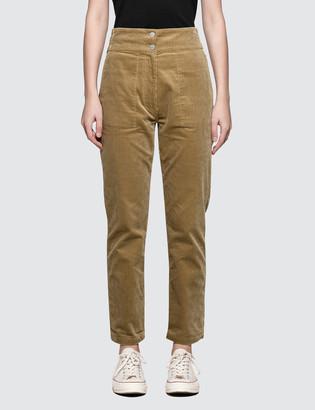 MAISON KITSUNÉ Corduroy Henrie High Waisted Pants