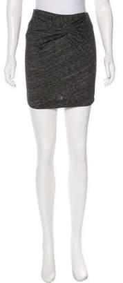 IRO Gathered Knit Skirt