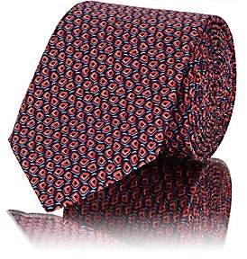 Lanvin Men's Abstract-Dot Silk Necktie - Red