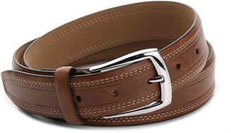 Dockers Double Stitch Leather Belt - Men's