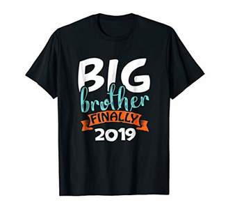 Big Brother Finally 2019 Baby Reveal Announcement Tshirt