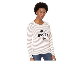 Lacoste Long Sleeve Crew Neck Disney Sweater
