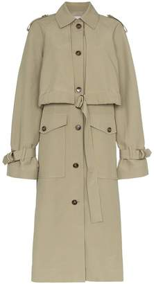 Blend of America Rejina Pyo long sleeve cotton belted trench coat