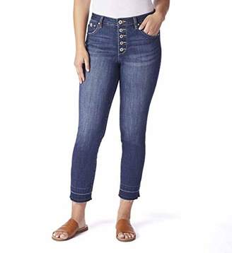 a8ed3a480354 Jag Jeans Women's Gwen Button Fly Slim Ankle Jean
