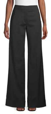 Derek Lam Banded Wide-Leg Trousers